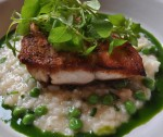 Husk Fish Rice Grits andPeas