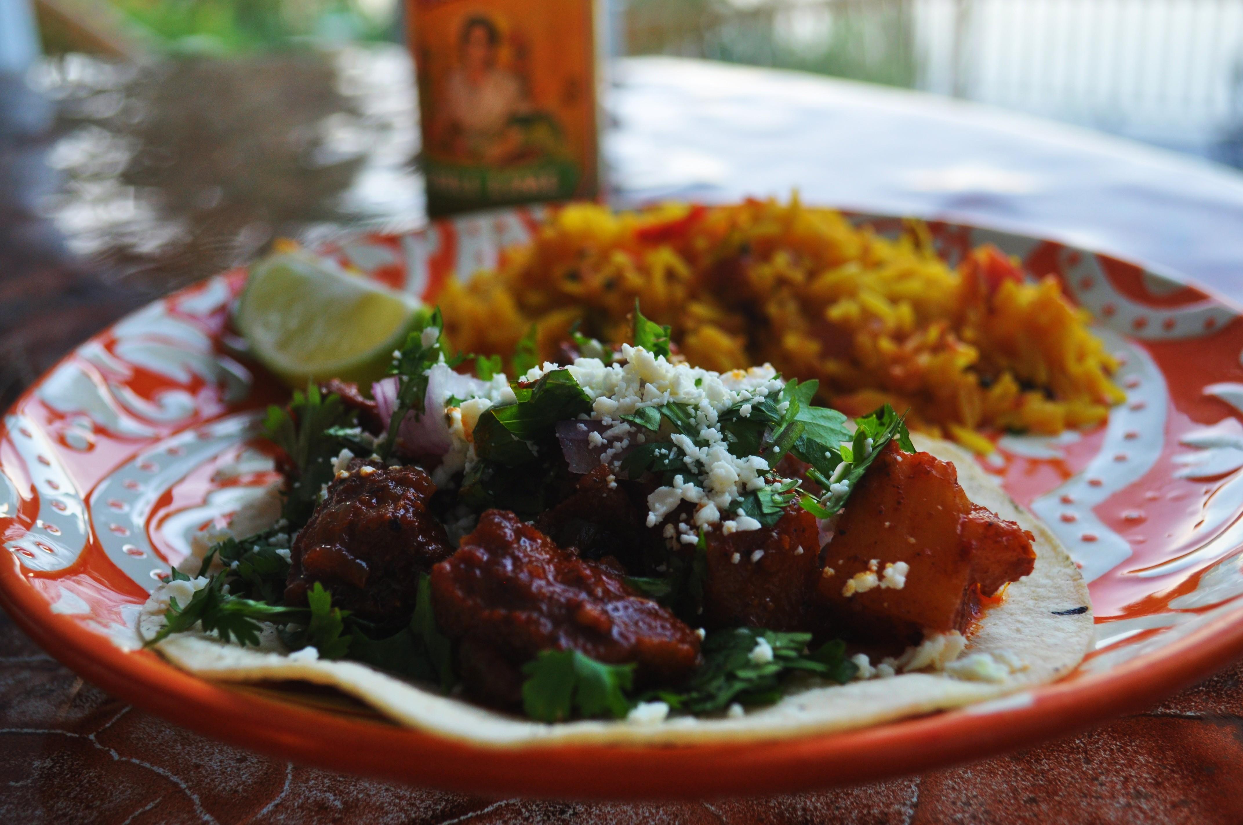 tacos al pastor the sassy spoon fun food. Black Bedroom Furniture Sets. Home Design Ideas