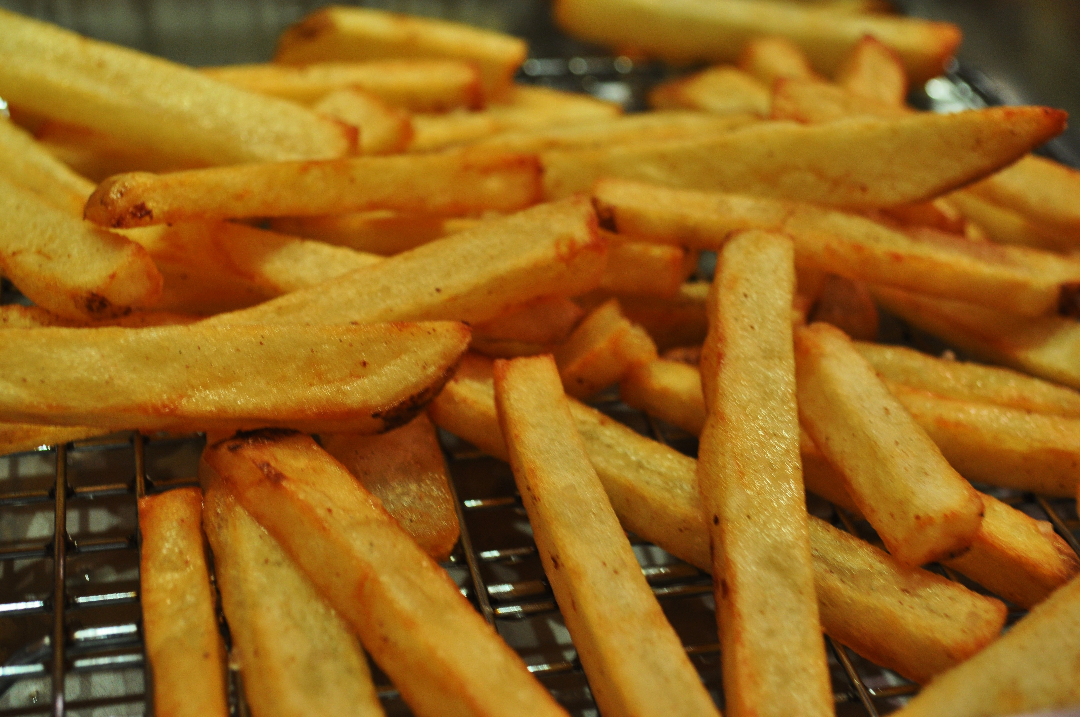 Perfectly cooked fries