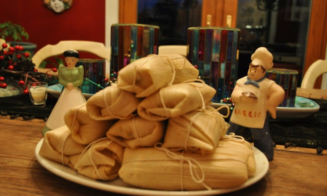 tamales to steam