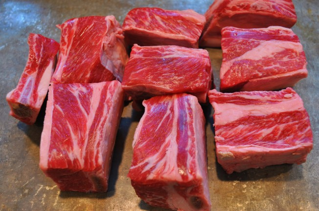 short ribs raw