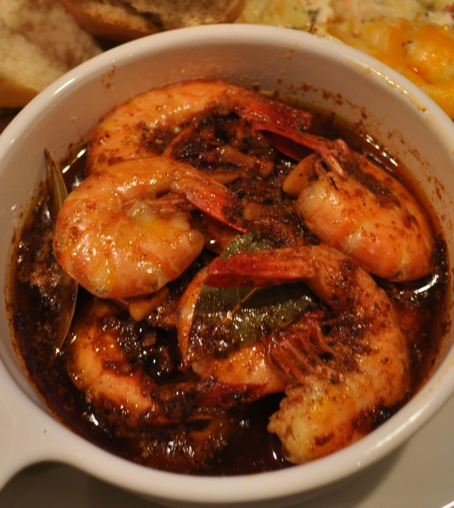 BBQ Shrimp close up