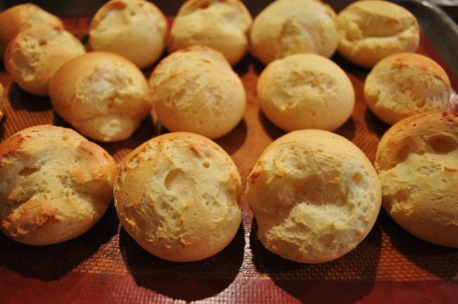 yuca bread baked