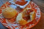 yuca bread closeup