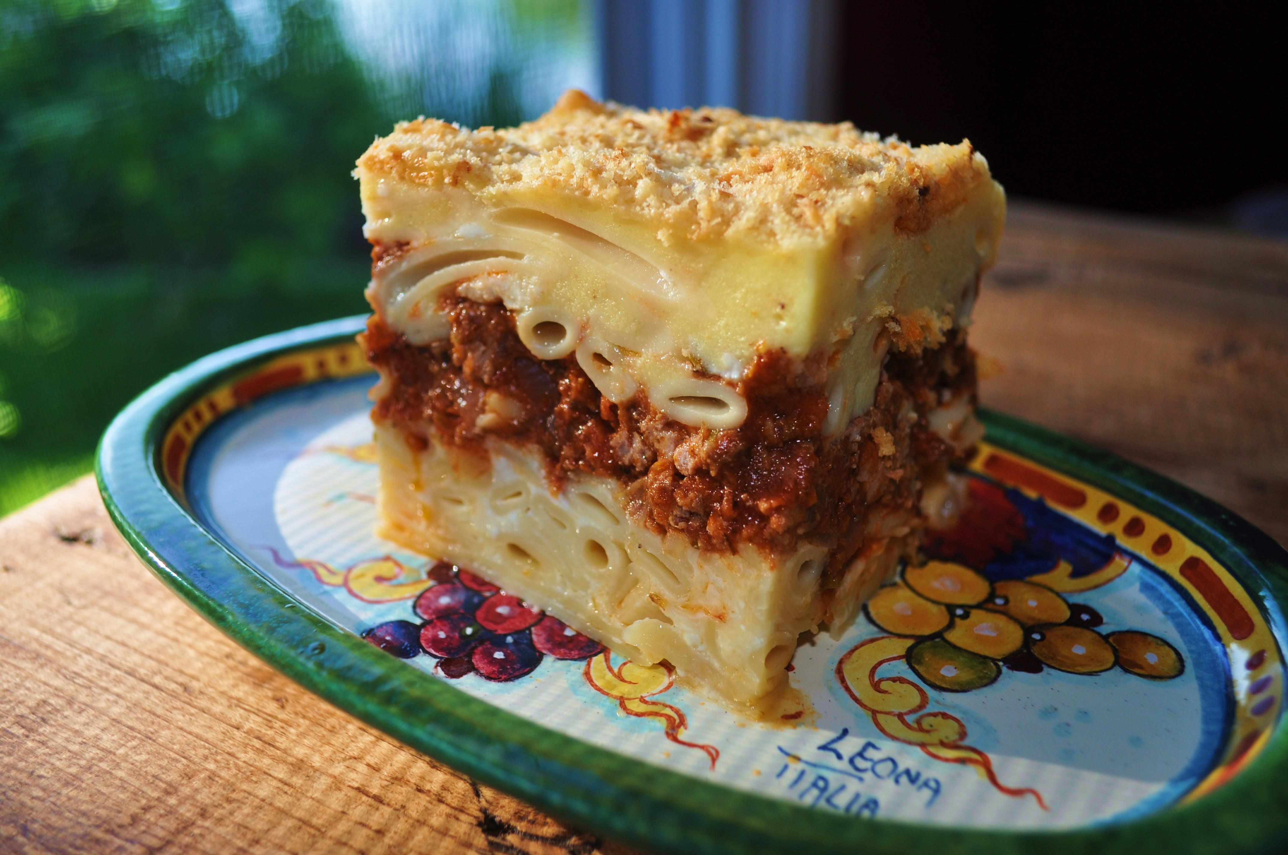 Pastitsio: Greek Lasagna | The Sassy Spoon: Fun Food!
