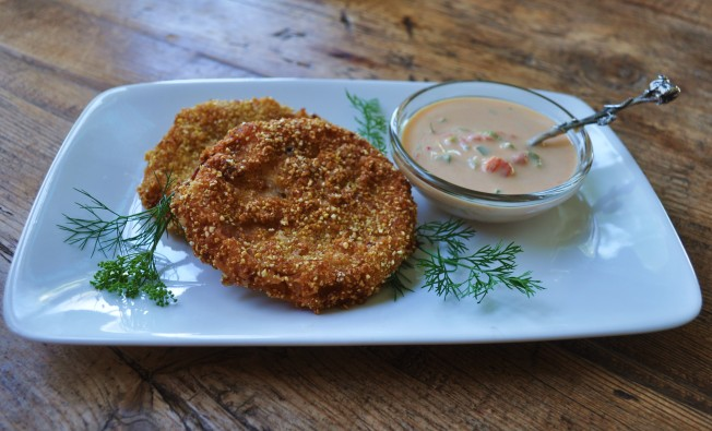 Fried Green Tomatoes and Remoulade